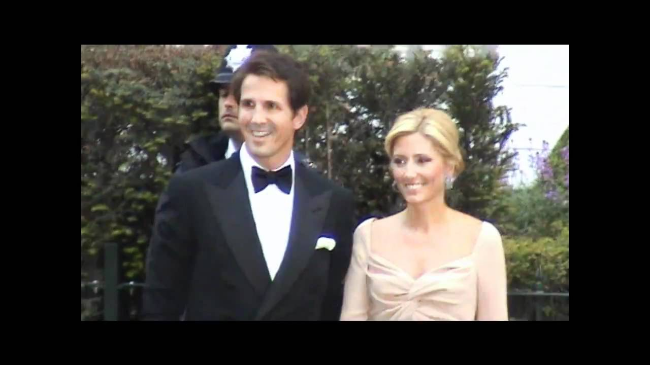 Royal Wedding Rare Prince Pavlos Of Greece And Princess Marie Chantal London Queen Party Youtube
