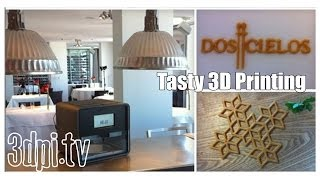 Fine Restaurant Explores Tasty 3D Printing