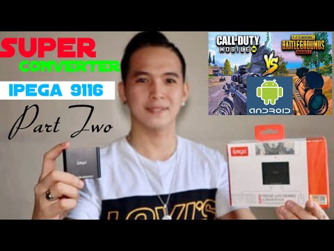 Ipega 9116 For ANDROID Device W/ Full Tutorials   PART II TAGALOG