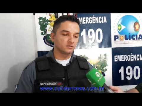PM de Colíder fecha boca de fumo e prende três pessoas. (Vídeo)