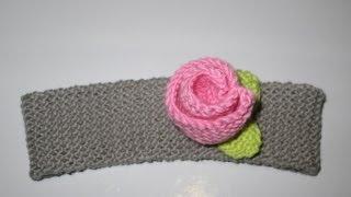 comment tricoter bandeau laine