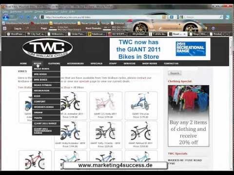 Eigener Online Shop kostenlos mit Wordpress oder Joomla