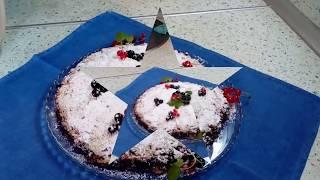 Насыпной пирог с яблоками и смородиной!( Пирог три стакана)