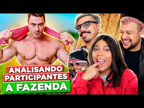 ANALISANDO OS PARTICIPANTES DA FAZENDA 2018 feat. BLOGUEIRINHA DE MERDA | Diva Depressão