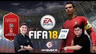 FIFA 18 NO EI GAMES! OCTAVIO NETO E CASIMIRO MIGUEL JOGAM A DLC DA COPA DO MUNDO!