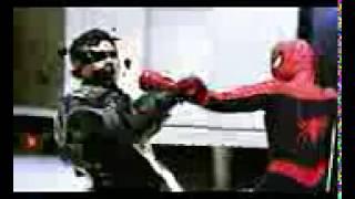 MUVIZA COM  Hot Toys Stop Motion  Spiderman VS Green Goblin VS