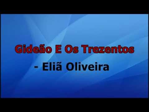 Gideão e os trezentos - Eliã Oliveira playback e letra