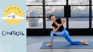 Day 21 - Control | BREATH - A 30 Day Yoga Journey