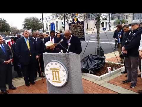 Fred Gray landmark unveiling
