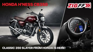 Honda H'ness CB 350 Launched | Price, Engine Specs, Features & More| ZigFF