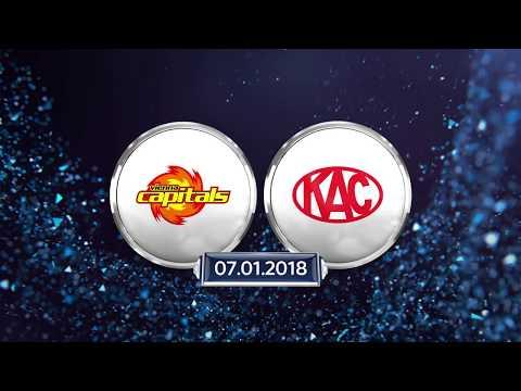 Erste Bank Eishockey Liga 17/18, 38. Runde: Vienna Capitals - EC-KAC 3:1