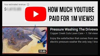 How Much YouTube Paid Me for A 1 Million Views Video