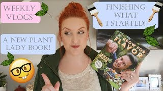 WEEKLY VLOGS | FINISHING WHAT I STARTED | SUPER CHATTY | SIRENA GRACE CELES