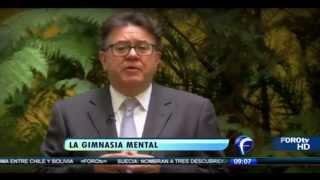 El @maestroVigil habla de la gimnasia mental. Matutino Express FOROtv