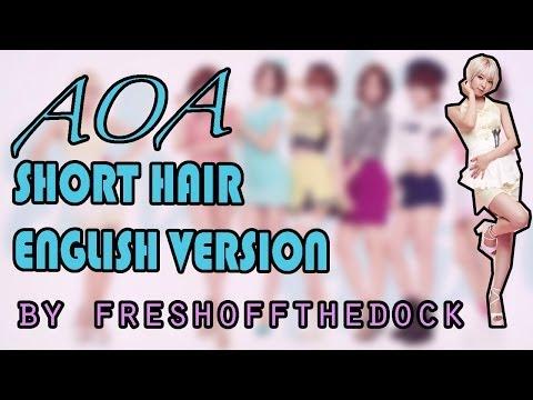 AOA - Short Hair English Cover