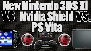new nintendo 3ds vs ps vita vs nvidia shield portable what is the best handheld console