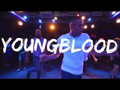 Youngblood - Line Dance Demo | 5sos | Carlton Thompson Choreography