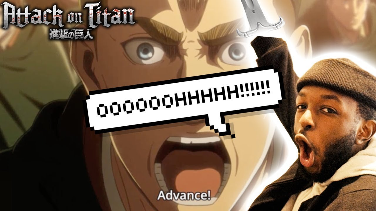 ADVANCEEE!!!! ATTACK ON TITAN SEASON 3 EPISODE 12 REACTION ...
