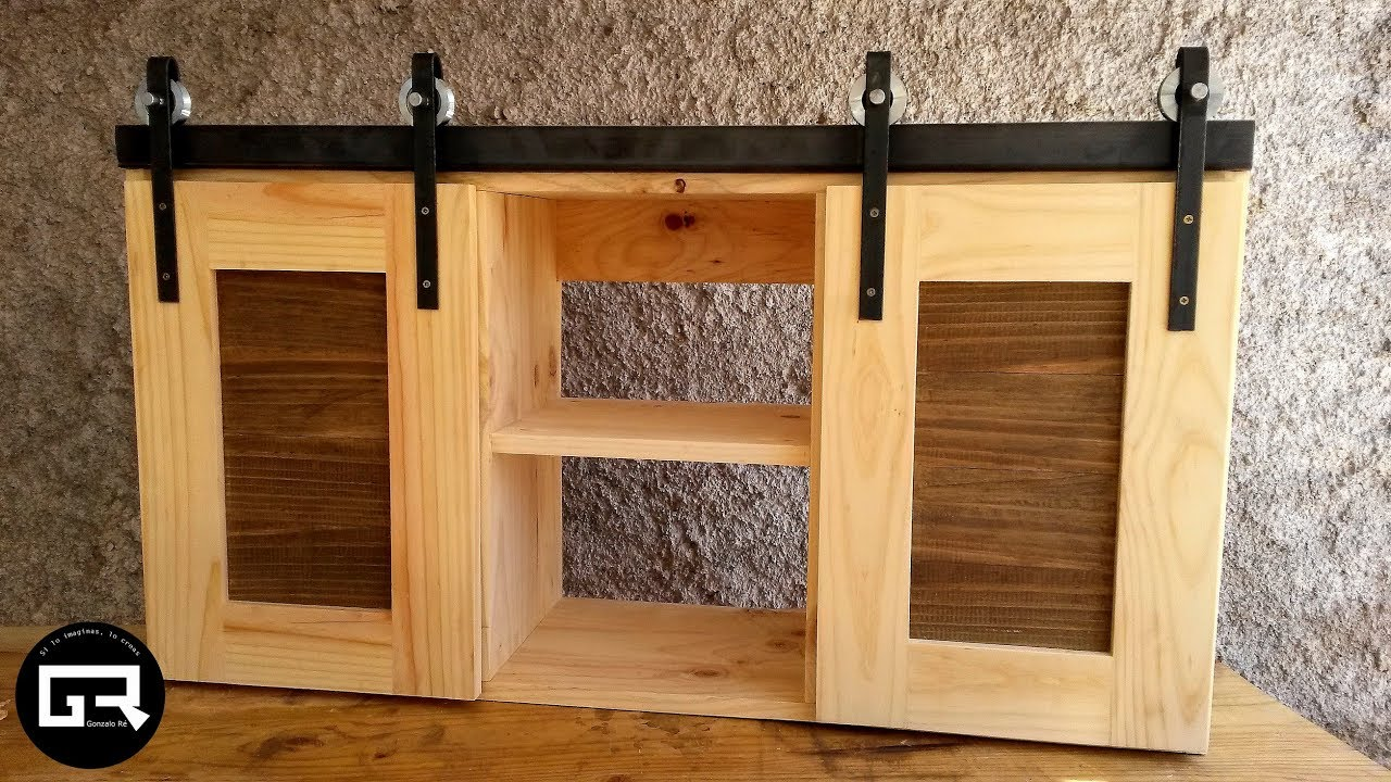 Muebles Con Palets Y Cajones Alacena De Palets / Pallet Wood Cabinet Build - Youtube