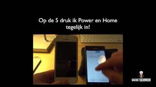 iPhone werkt niet meer, gebruik DFU mode als oplossing