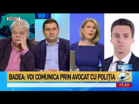 Mircea Badea, audiat pentru că a criticat Poliția