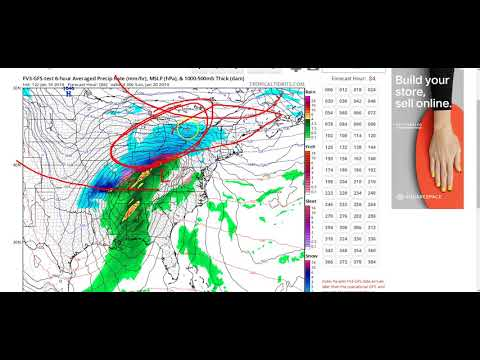 1-16-19 Another Weekend Winter Storm for the Ohio Valley