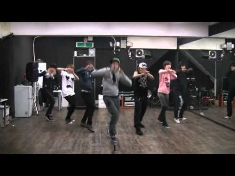 Infinite - Paradise mirrored dance practice