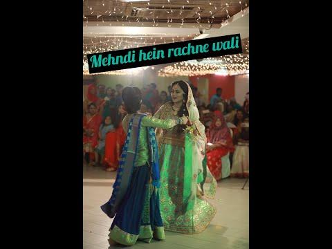 Mehndi hai rachne wali-holud dance performance