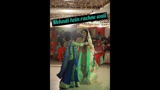 Mehndi hai rachne wali holud dance performance