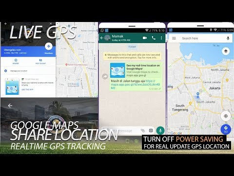 Live GPS Tracking Real Time Location with Google Map Sharing