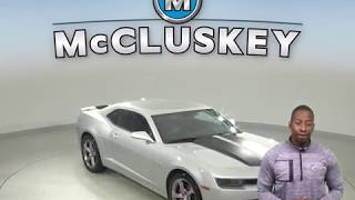 A10126GT Used 2014 Chevrolet Camaro Silver Test Drive, Review, For Sale -