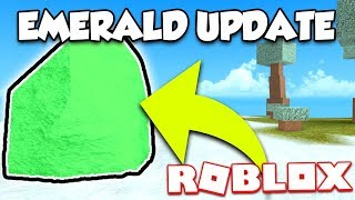 EMERALD ARMOR IS COMING TO BOOGA BOOGA! NEW UPDATE (ROBLOX)