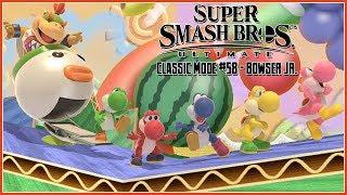 Super Smash Bros. Ultimate - Classic Mode #58: Bowser Jr. (Mama Peach, Where are You?)