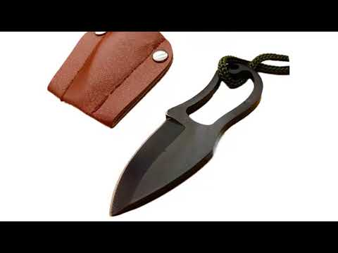 Portable Survival Knife | Defence Knifes with Leather Cover