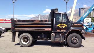 Dump Truck International Cummins Turbo Diesel, 9 Speed, Air Brakes FOR SALE