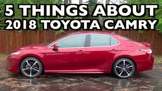 Here's the 2018 Toyota Camry on Everyman Driver