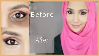 HOW TO CONCEAL DARK CIRCLES! From light to severe! | Amena