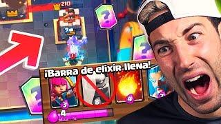 ¡¡HAGO 3 CORONAS CON 4 DE ELIXIR O CASTIGO EXTREMO!! MAZO MAS BARATO DE CLASH ROYALE! | Clash Royale