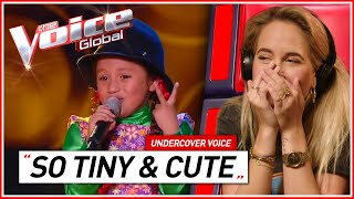 CUTEST BLIND AUDITIONS in The Voice Kids | Undercover Voice #2