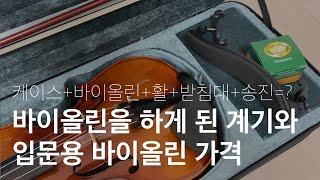 입문용 바이올린은 얼마인가요? 취미로 바이올린을 선택한…