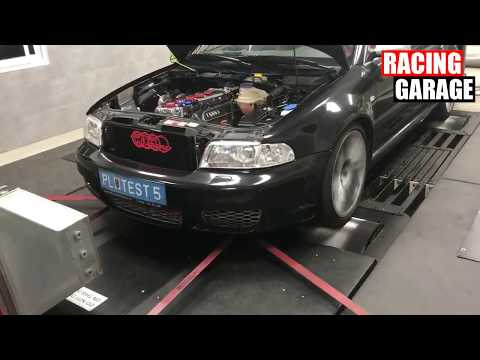AUDI RS4 STAGE 2 - 821HP / 870Nm @ 2.9 Bar