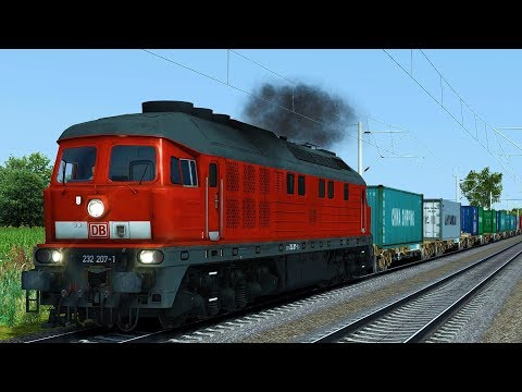 "BR 232 Ludmilla | ""Container nach Mockau"" Teil 1 | Schwere Fracht für Seddin | Train Simulator 2017"