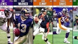 Every NFL Super Bowl MVP from the very beginning: 1-50 (I-L)