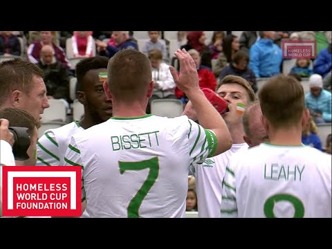 Oslo 2017 - Homeless World Cup 7th and 8th Place - Ireland v Bosnia and Herzegovina