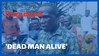 Drama in Busia after man believed to have died and buried returned home