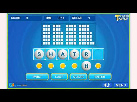 How To Play Text Twist 2 Game | Free Online Games | MantiGames.com