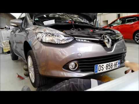 Tuto Demontage Pare Choc Avant Renault Clio 4 Disassembly