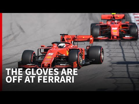 'Ferrari's F1 driver rivalry risks spiralling out of control'