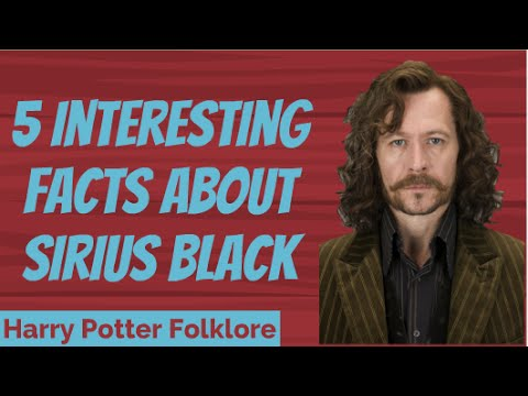 5 Interesting Facts About Sirius Black