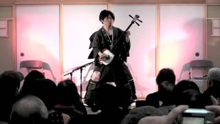 "【Seshami Street Boys】 The ""Seshami Street Boys"" is a shamisen duo..."